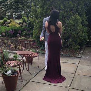 Faviana Dresses - Faviana 7943 Long Prom Dress Plum